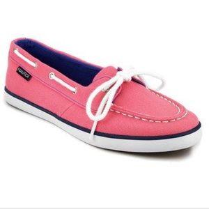 Nautica Camellia Rose Boat Shoes